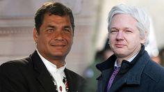 Fotos Rafael Correa otorga el asilo político a Julian Assange
