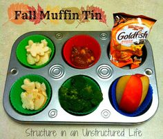 Fall Muffin Tin Meal on Structure in an Unstructured Life