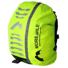 More Mile High Viz Waterproof Backpack Rucksack Bag Cover for Cycling or Running: Amazon.co.uk: Sports & Outdoors