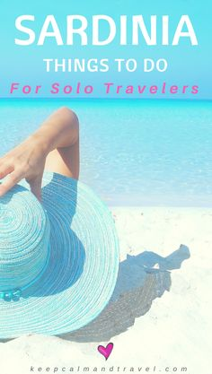 Traveling solo to Sardinia? Why not! The island has so much to offer, from beautiful beaches to culture, food, sailing and tons of other activities for people traveling by themselves. I will give you advice on things to do and see and where to find a hotel or hostel that's perfect for you. I am still adding more activities in the blog post so stay tuned for more! #Sardinia #Sardegna #SoloTravel #vacation #hotels #hotel #beach #beaches #traveltips