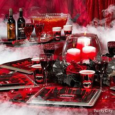 Nothing says Halloween mystery like a little fog! You can instantly add atmosphere to your Halloween party or any event with fog machines and some eerie special-effects accessories!