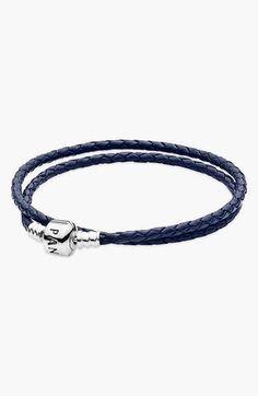 Pandora Design Leather Wrap Charm Bracelet on shopstyle.com