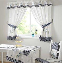Cool Kitchen Window Curtains: Kitchen Window Curtains Geometric ~ Decoration Inspiration