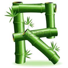 Bamboo Logo Brief Sign R photo