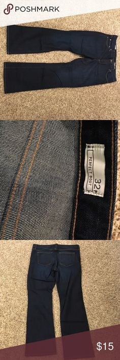 Gap perfect boot Jeans Worn just a time or two - no were! GAP Jeans Boot Cut