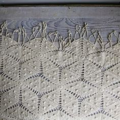 Vintage Crochet Bedspread - just like Martha's that I'm trying to figure out pattern and add another row to for her!!!