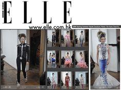 Elle Hong Kong 2009 Fashion Show couture by on aura tout vu. Haute Couture Fashion Week Paris