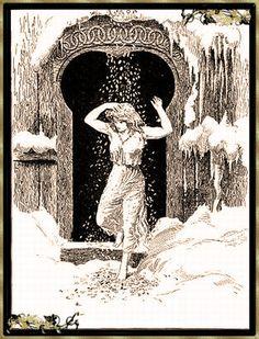 Vrouw Holle... Gebroeders Grimm