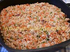Zeleninová tarhoňa – Maminčiny recepty Fried Rice, Fries, Ethnic Recipes, Food, Essen, Meals, Nasi Goreng, Yemek, Stir Fry Rice