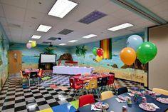 The #Birthday Party Room at #SaharaSams