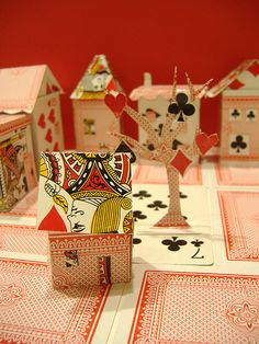 Card Houses By Philippa Rice Playing CraftsVintage