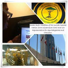 Queen Quet continuing the Gullah/Geechee Nation's stand for human rights. www.gullahgeecheenation.com
