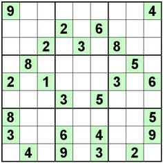 Number Logic Puzzles: 23081 - Sudoku size 9
