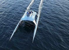 The Glider luxury sports yacht is a conceptual design about to hit market. Watch the video...The Glider yacht will come in sizes ranging from 18 metres (like the one in this video), up to 80 metres which will