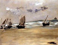 Manet La plage de Berck-sur-Mer