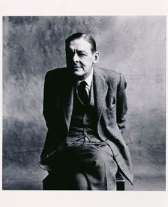 """THOMAS STEARNS """"T.S."""" ELIOT (Playwright)  BIRTH:  September 26, 1888 in St. Louis, Missouri, U.S.A.  DEATH:  January 4, 1965 in London, England  CAUSE OF DEATH:  Emphysema  CLAIM TO FAME:  Ash Wednesday"""