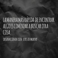 Ley De Murphy Del Amor Y La Vida