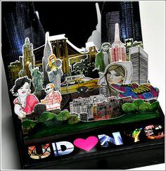 urban decay book of shadows III NYC