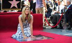 Jennifer Aniston got her star on Hollywood's Walk of Fame!  http://enjoyingwonderfulworld.blogspot.com/2012/02/jennifer-aniston-got-her-star-on.html
