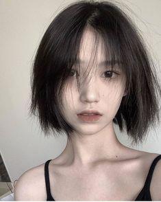 Short Hair Tomboy, Asian Short Hair, Asian Hair, Girl Short Hair, Short Hair Cuts, Shot Hair Styles, Curly Hair Styles, Korean Haircut, Ulzzang Hair