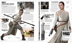 Star Wars: The Force Awakens Visual Dictionary // Rey