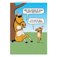 Funny Little Horse Birthday Card by Chuck Ink on Zazzle  @zazzle #zazzle #birthday #card #birth #day #birthdaycard #funny #humor #nap #napping #party #give #gift #gifting #present #friends #family #friend #text #font #look #buy #shop #sale #shopping #horse