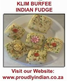 Klim Burfee - Indian Sweetmeats