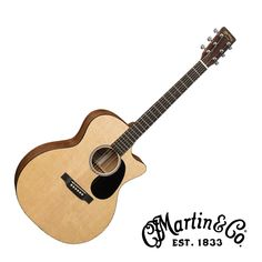 Martin GPCRSGT Road Series Acoustic Electric Guitar with Case