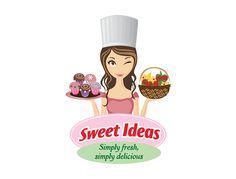 .recetas.reposteria.morganaerzerbeth Logo Dulce, Bakery Shop Design, Open Plan Kitchen Dining Living, Cake Logo Design, Packaging Stickers, Bakery Logo, Homemade Spices, Shop Logo, Letter Logo