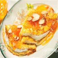 Peaches and Cream Crepes from Smucker's®
