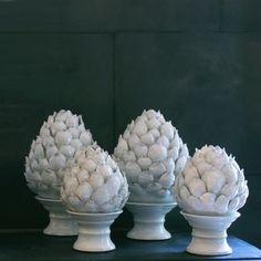 Alcachofas ceramica