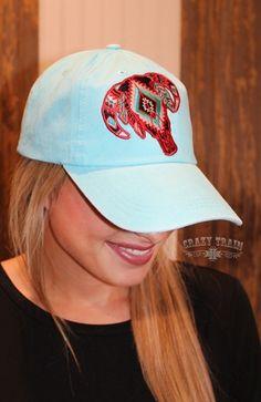 STEER ME BLUE CAP Crazy Train Clothing df01d3991dea