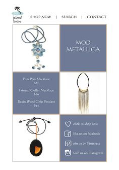 Need some new jewels for Autumn?  Silver, gold, or rose gold statement pieces in muted tones.