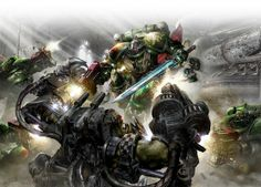 New Warhammer strategy game faces off Space Marines against Orks - http://rigsandgeeks.com/blog/index.php/new-warhammer-strategy-game-faces-off-space-marines-against-orks/
