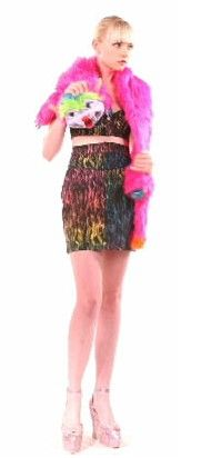 3ea0667c jeremy scott Prom Queens, Jeremy Scott, Love Crochet, Formal Dress,  Camisole,