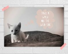Wild side Print by vaporqualquer on Etsy,