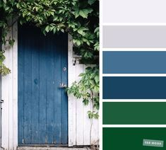 Blue-gray and green color combination, dusty blue color palette # color # color… - Mariage Deco, Green Color Schemes, Green Colour Palette, Blue Colour Palette, Colour Palettes, Blue Color Combinations, Color Blue, Room Color Combination, Blue Gray Bedroom, Blue Rooms