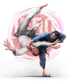 Exclusive products with a print theme Judo. Action Pose Reference, Action Poses, Martial Arts Manga, Judo Throws, Gesture Drawing Poses, Fighting Drawing, Bjj Memes, Fighting Poses, Cat Icon