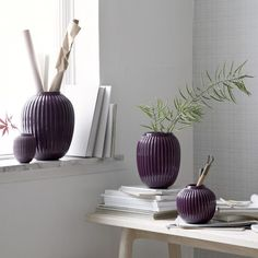 Pretty in Plum – fall collection by Kahler   www.my-full-house.com