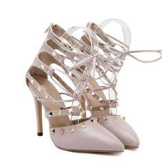 c027d6f76b11 ype  PumpsLining Material  PUHeel Type  Thin HeelsUpper Fits true to  sizePlatfor Roman Sandals Women Pumps European New Style Booties Ladies  Sexy Hollow ...