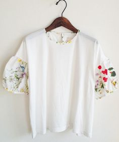 SINDEE(シンディー)のFIELD FLOWER COMBI TOP(Tシャツ/カットソー)|詳細画像