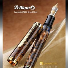 Introducing the 2016 @pelikan_company M800 Grand Place Special Edition. Inspired…