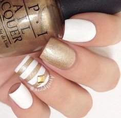 GOLD and WHITE - Gorgeous!