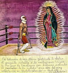 EX VOTO --Mexico --La Virgen de Guadalupe