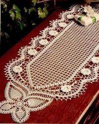 Decoremos el hogar a puro crochet , preciosas prendas en hilados de algodòn fino con los màs asombrosos diseños de la naturaleza , una sele...