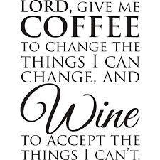 Coffee vs Wine