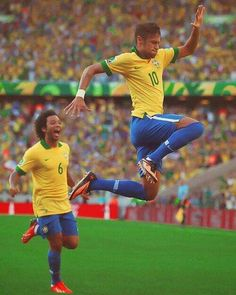 Neymar Jr. & Marcelo