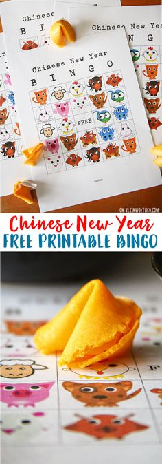 Create a family fun night & celebrate Chinese New Year with this FUN Chinese New Year Bingo Printable. Serve tasty food with a little cultural inspiration Chinese New Year Crafts For Kids, Chinese New Year Gifts, Chinese New Year Activities, Chinese Crafts, New Years Activities, Activities For Kids, Chinese Holidays, Montessori Activities, Preschool Lessons