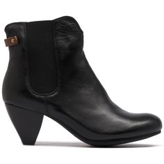 - Made with butter soft leather, this beautiful gusset ankle boot features an almond toe, cone shaped heel and rear decorative tab above the heel counter. Perfect for the office by day under trousers or Casual Outfits, Casual Clothes, Black Ankle Boots, Cropped Pants, Soft Leather, Booty, Lady, My Style, Heels