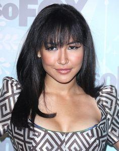 Naya Rivera rocks full, sexy bangs!